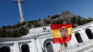 Corpo de Franco está enterrado no Vale dos Caídos