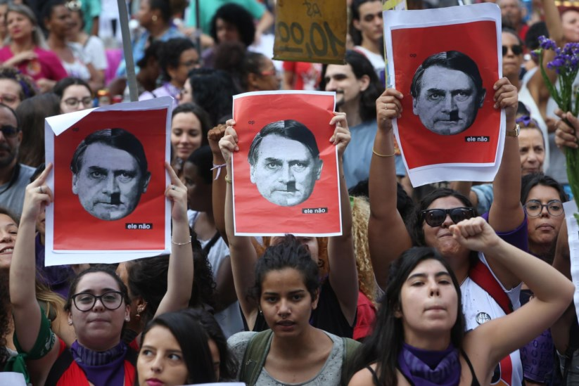 Image result for bolsonaro fascista militar
