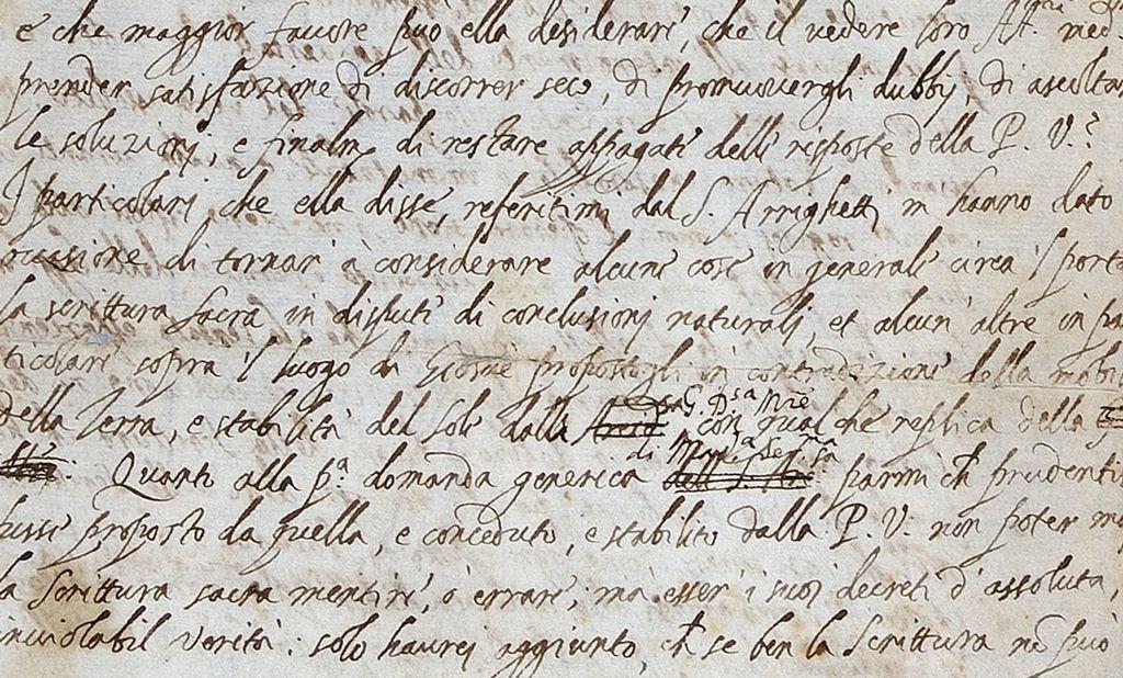 9f53d3d6b7a Carta perdida de Galileu mostra como tentou fugir às mãos da Inquisição
