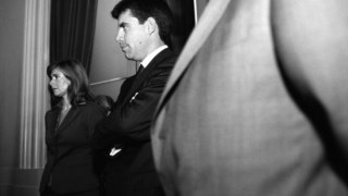 Lino Ramos em 2003, na tomada de posse como governador civil de Lisboa