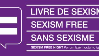 """Esta placa deverá começar a identificar os locais de animação nocturna tidos como """"seguros"""" em termos de violência de género"""