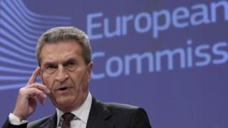 Günther Oettinger apelou à acção dos líderes europeus para fechar o orçamento