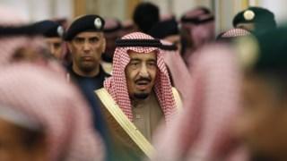 O rei Salman, de 82 anos