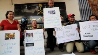 """Jornalistas indonésios pedem """"justiça por Khashoggi"""""""