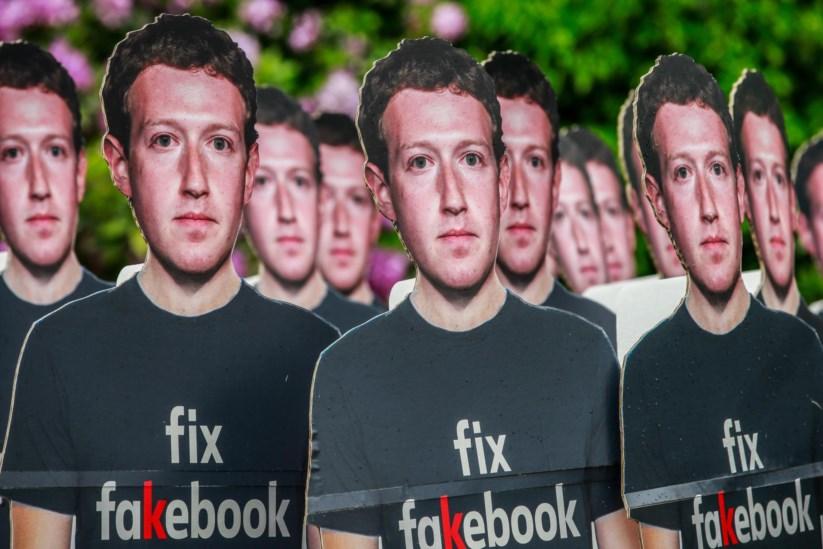 Resultado de imagem para Estará o Facebook a ganhar a luta contra as notícias falsas?