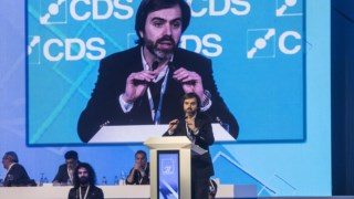 João Almeida é porta-voz do CDS-PP