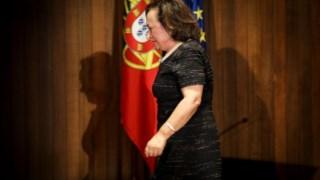 Joana Marques Vidal foi procuradora-geral da República até dia 12 de Outubro