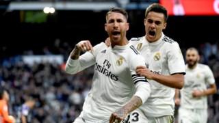 Sérgio Ramos selou o triunfo do Real