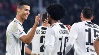 Ronaldo contribuiu para o triunfo da Juventus