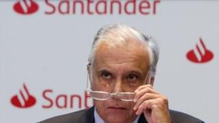 Vieira Monteiro na apresentação das contas trimestrais do banco, na passada quarta-feira
