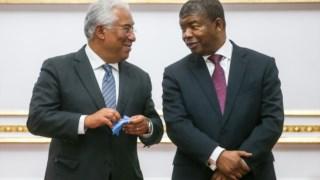 João Lourenço e António Costa, durante uma visita do primeiro-ministro português a Angola