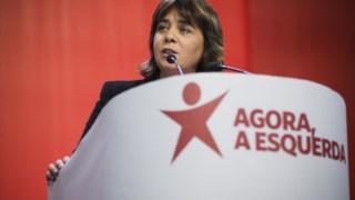 """Catarina Martins diz que que o BE alcançará """"a força para ser parte do governo quando o povo quiser"""""""