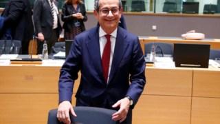 Giovanni Tria, ministro italiano das Finanças
