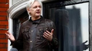 O fundador da Wikileaks vive na embaixada do Equador em Londres há seis anos