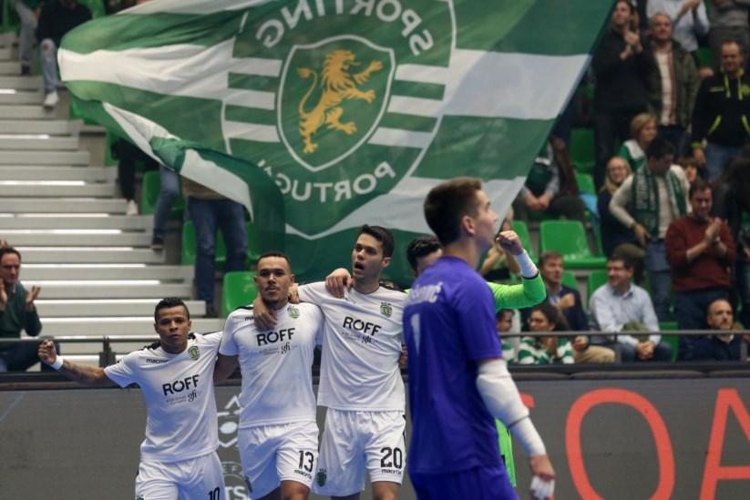 O Sporting venceu facilmente na Champions de futsal 3067da5203a5e