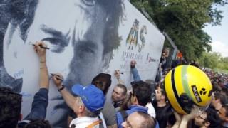 Ayrton Senna continua a ser seguido por uma legião de fã por todo o mundo