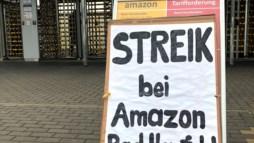 """Trabalhadores da Amazon na Europa: """"Nós não somos robôs"""""""