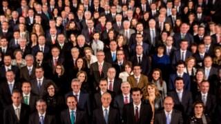 Os presidentes das câmaras do paí