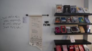 A livraria vai deixar o espaço no número 22 da Rua do Ferraz