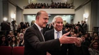 Moscovici participou em conferência, foi condecorado em Belém e deu entrevista à Lusa