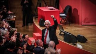 António Costa no congresso dos socialistas europeus
