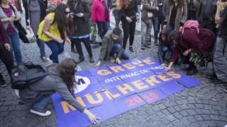 manifesta;\ao da CGTP no 1.' de Maio de 2018, no Porto