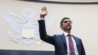 Pichai foi questionado pelo comité judicial do Congresso americano
