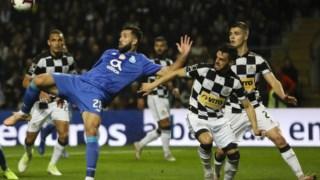 FC Porto venceu no Bessa com golo de Hernâni aos 90+5'