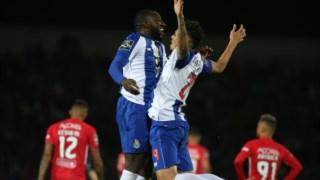 O FC Porto venceu o Santa Clara