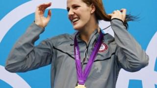 Missy Franklin viveu momentos de glória nos Jogos Olímpicos de 2012