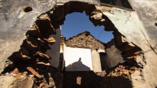 Das 800 habitações danificadas, 54% já estarão concluídas e pagas