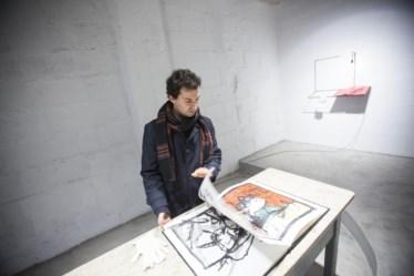 PÚBLICO - Nuno Centeno e os seus livros de artista