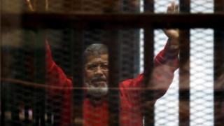 Mohammed Mursi ouviu declarações de Mubarak