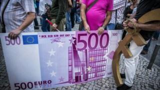 Notas de 500 euros começam a sair de circulação ao longo deste ano