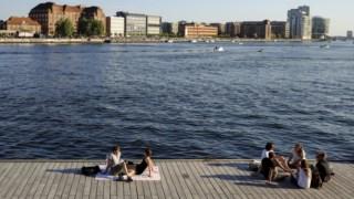 AS nove ilhas serão construídas ao largo de Copenhaga