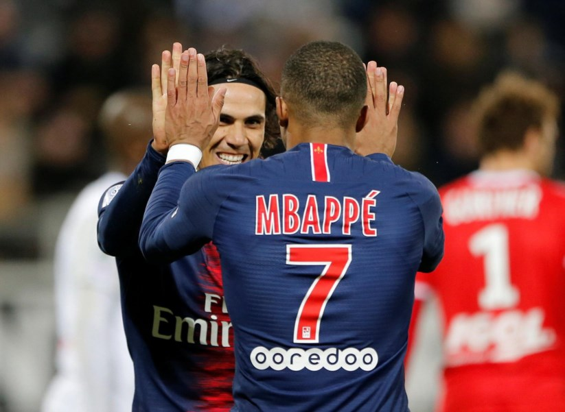 Paris Saint-Germain bate recorde no campeonato francês  dfae45e895e21