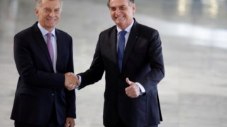 Mauricio Macri foi o primeiro chefe de Estado recebido por Bolsonaro após a tomada de posse