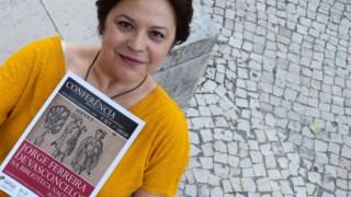 Silvina Pereira em 2015, por altura da conferência e exposição do V Centenário
