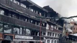 Edifício de três andares foi consumido pelas chamas