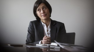 Cristina Casalinho, presidente do IGCP