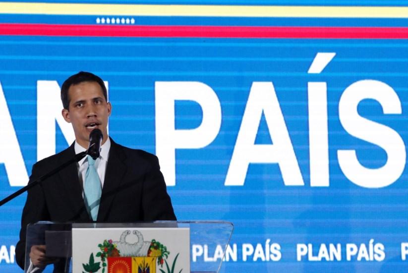 """Guaidó apresentou nesta quinta-feira o seu """"plano país"""", uma espécie de programa de Governo"""