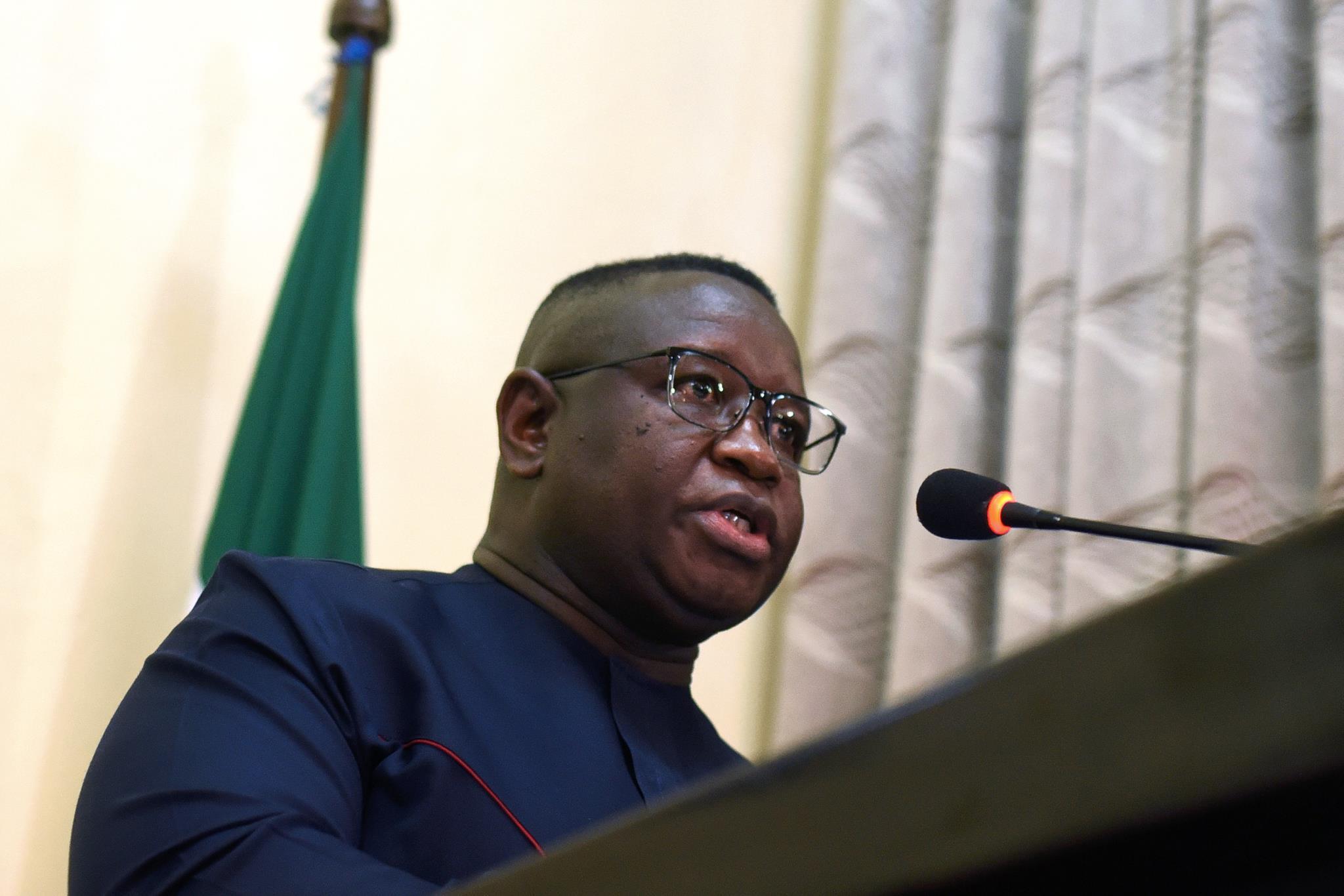 Julius Maada Bio, presidente da Serra Leoa
