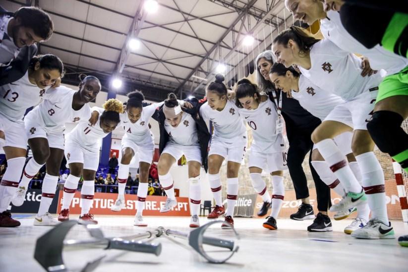 cde43993f3 Selecção nacional feminina de futsal goleia Hungria por 9-0