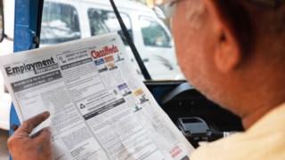 Anúncio para dois carrasacos publicados no jronal estatal Daily News