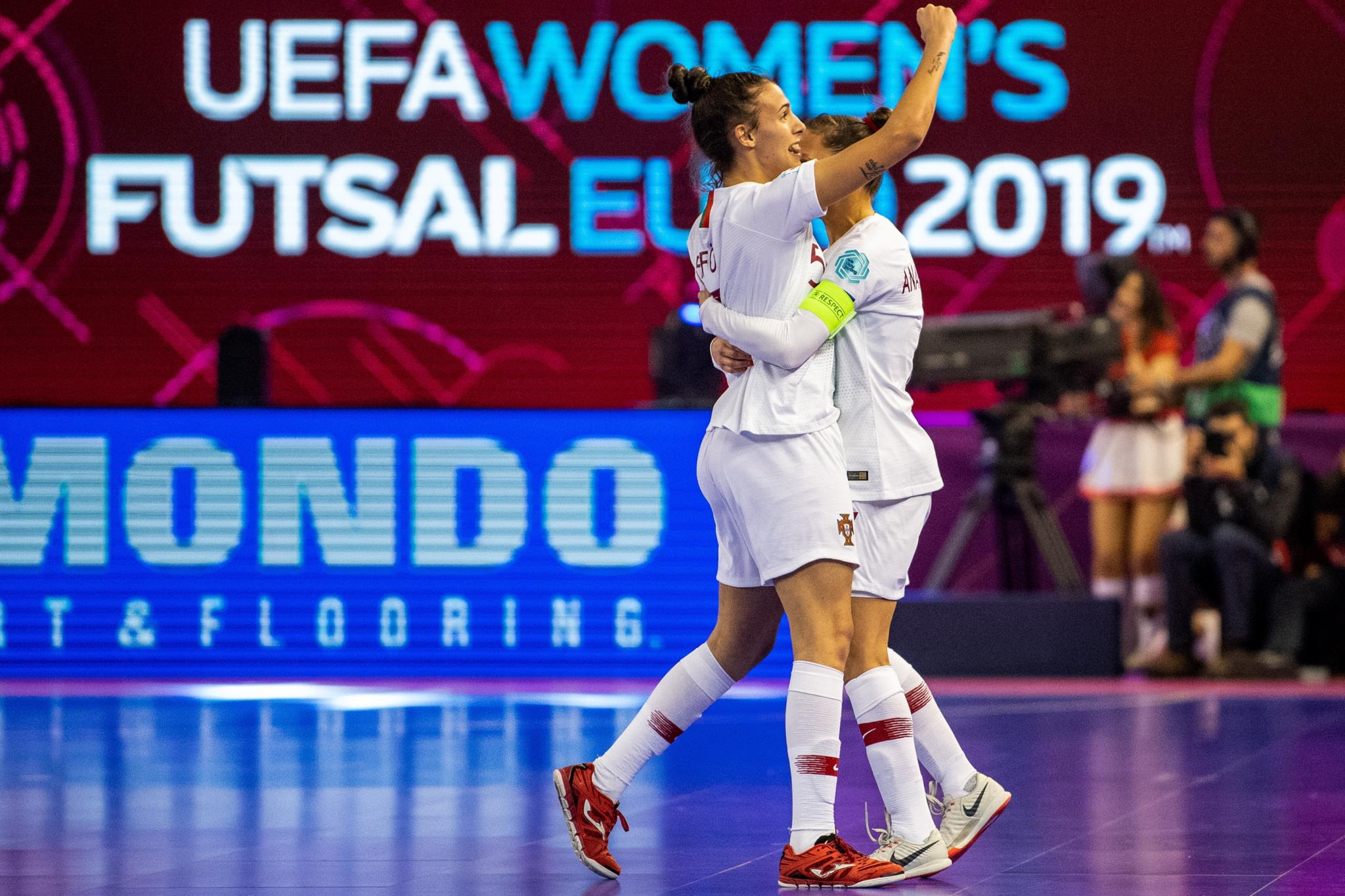Génio de Fifó e pé quente de Janice guiam Portugal à final do Europeu de  futsal  cb7fcc5ac3831