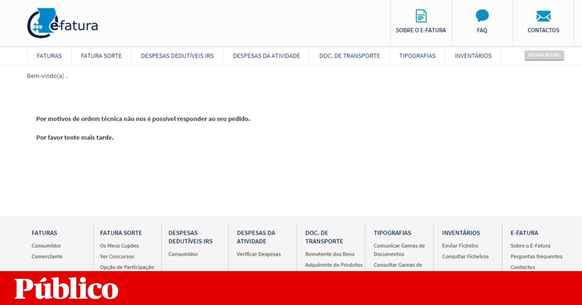 Difficulty Accessing The E Invoice Portal Bills
