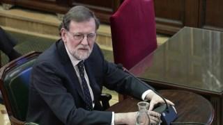 Mariano Rajoy fo ouvido no Supremo em Madrid como testemunha