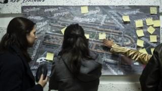 Participantes no Lab Cívico reuniram-se pela primeira vez esta terça-feira à noite vez