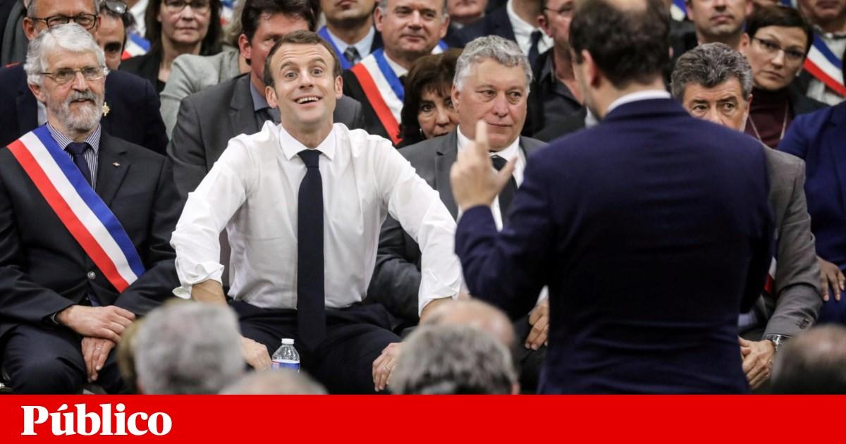 """O """"grande debate"""" de Macron foi bom, mas o Presidente pôs o dedo na balança"""