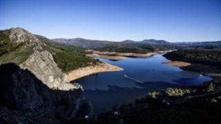 A Barragem de Santa Luzia em Pampilhosa da Serra